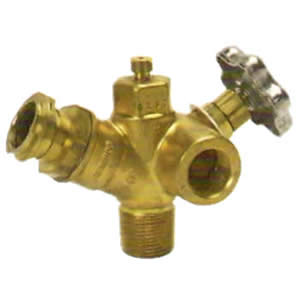 Multivalve for ASME tank