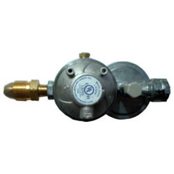 160,000 btu Horizontal Integral Propane Regulator w/POL