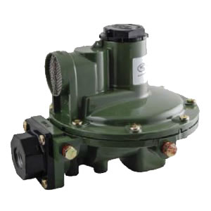 1,000,000 btu/hr Second Stage Regulator w/Rear Discharge