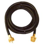 "10 Foot Camping Hose male/female 1""-20"