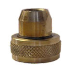 "Fill Valve Adapter - Female POL x 1 3/4"" Female ACME"