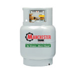 Propane Mower Cylinder - 20 Lb Steel