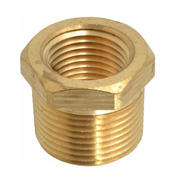 Bushing brass pipe thread
