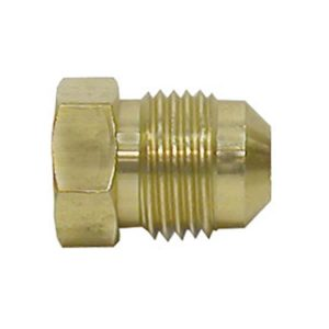 Brass Flare Plug Fitting